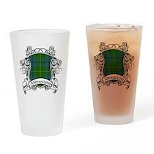 Johnston Tartan Shield Drinking Glass