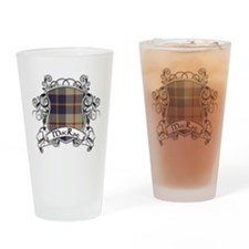 MacRae Tartan Shield Drinking Glass