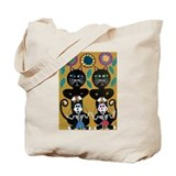 Cute Dead cat Tote Bag