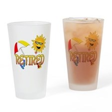 Retired Pint Glass