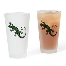 Ivy Green Gecko Drinking Glass