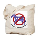 Anti-Democrat Tote Bag