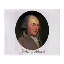 John Adams Throw Blanket