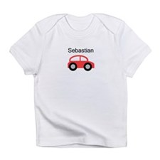 Sebastian - Red Car Infant T-Shirt