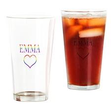 Emma - Rainbow Heart Pint Glass