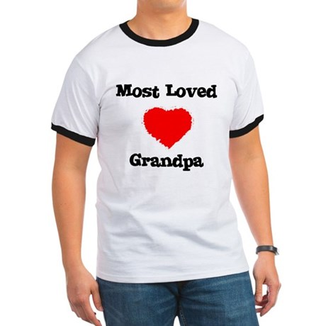 Most Loved Grandpa Ringer T
