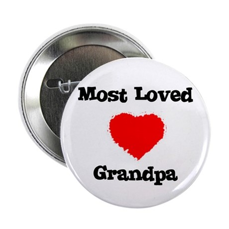 Most Loved Grandpa Button