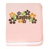 Kaylee - Fall Flowers baby blanket