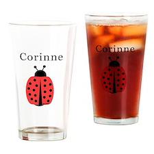 Corinne - Ladybug Pint Glass