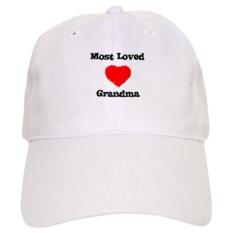 Most Loved Grandma Cap