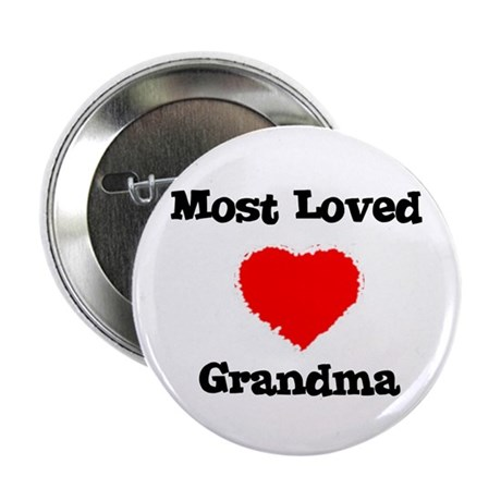 Most Loved Grandma Button