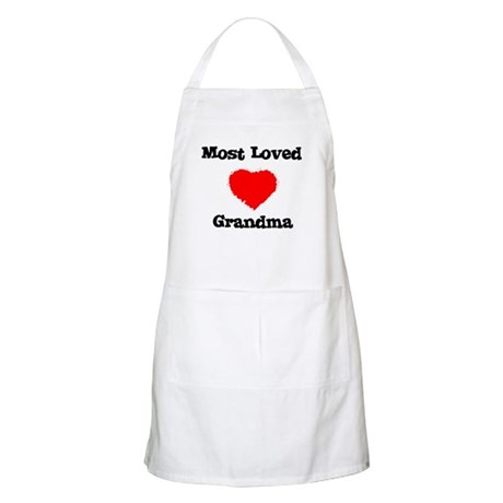Most Loved Grandma BBQ Apron
