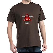 Aliens, Robots & Zombies T-Shirt
