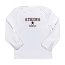 Athena - Name Team Long Sleeve Infant T-Shirt