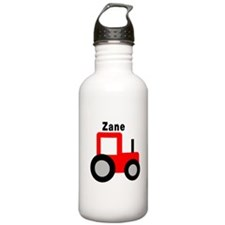 Zane - Red Tractor Sports Water Bottle