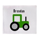Brendan - Tractor Throw Blanket
