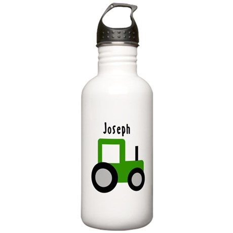 Joseph - Green Tractor Stainless Water Bottle 1.0L
