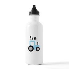Ryan - Baby Blue Tractor Water Bottle