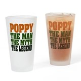 Poppy - The Legend Pint Glass