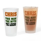 CHRIS - The Legend Pint Glass