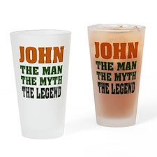 JOHN - The Legend Pint Glass