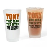 TONY - The Legend Pint Glass