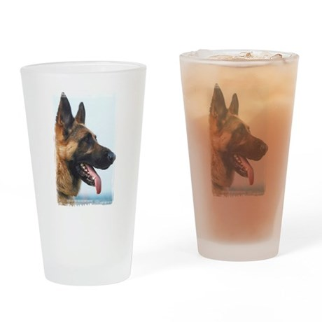 German Shepard Photo Pint Glass