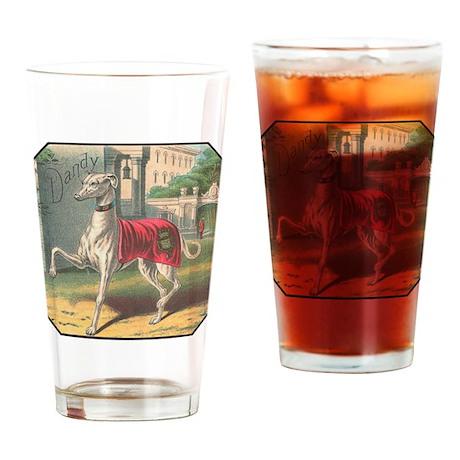 Greyhound Pint Glass