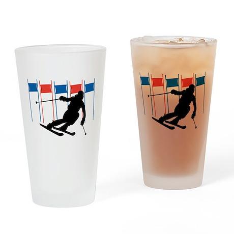 Ski Competition Pint Glass