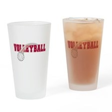 Volleyball 2 Pint Glass