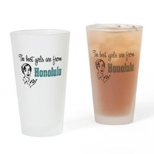 Best Girls Honolulu Pint Glass