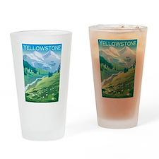 Yellowstone Pint Glass