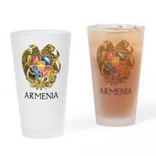 Armenian Coat of Arms Pint Glass