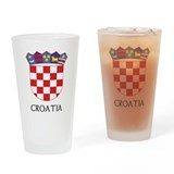 Croatia Coat of Arms Pint Glass