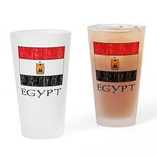 Egypt Flag Pint Glass