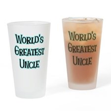 World's Greatest Uncle Pint Glass