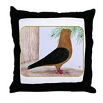 Gold Blackwing Archangel Throw Pillow