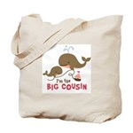 Big Cousin - Whale Tote Bag