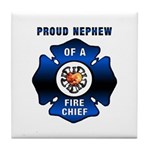 Fire Chief's Nephew Tile Coaster