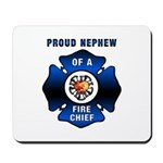 Fire Chief's Nephew Mousepad