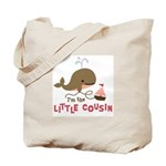 Little Cousin - Mod Whale Tote Bag