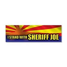 I stand with Sheriff Joe Car Magnet 10 x 3