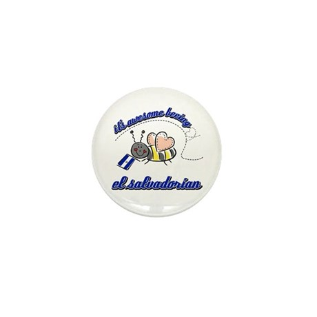 Awesome Being Salvadoran Mini Button