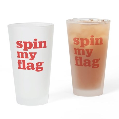 Spin My Flag Pint Glass