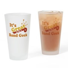 Band Geek Pint Glass