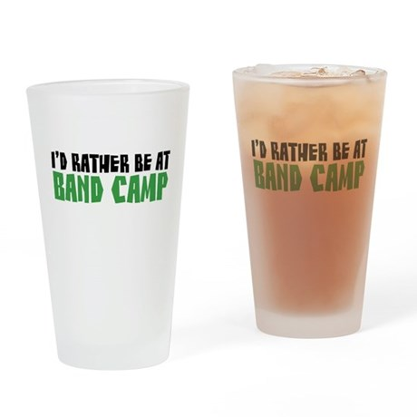 Band Camp Pint Glass