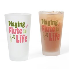 Flute is Life Pint Glass