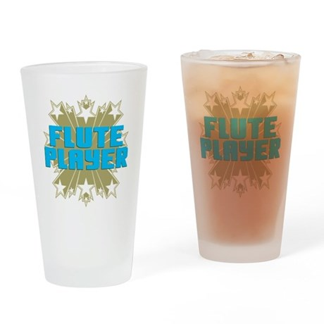 Star Flute Player Pint Glass