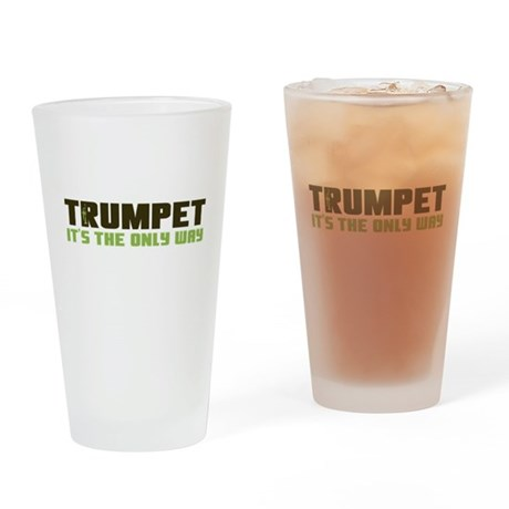 Trumpet Pint Glass