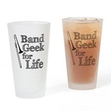 Trombone Band Geek Pint Glass